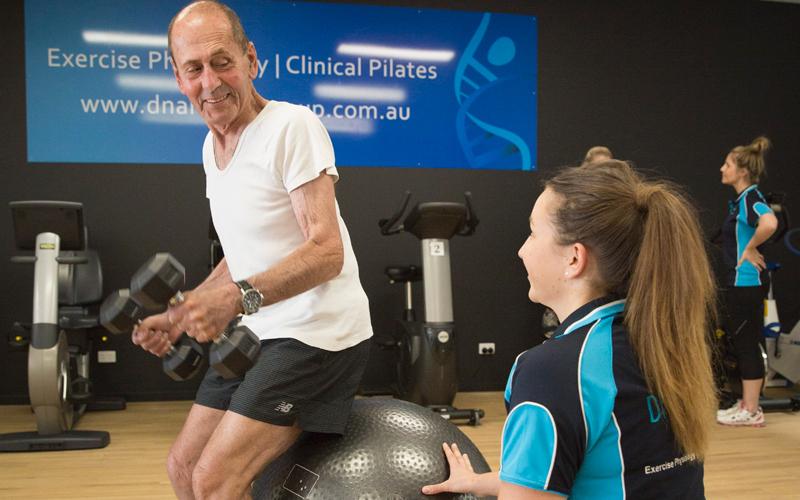 exercise studio